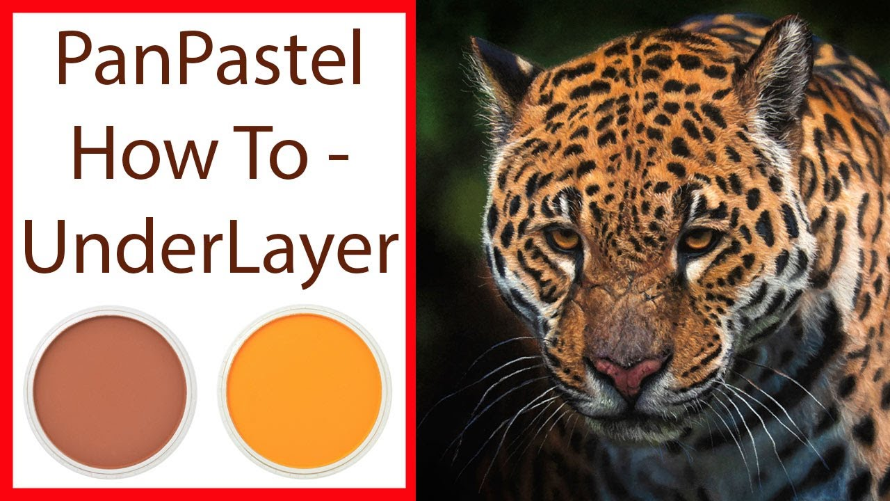 Pastel Painting Lesson - PanPastel Under Layer