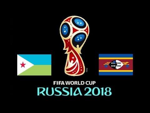 YIBUTI v. SWAZILANDIA - CAF 2018 FIFA World Cup - 1° RONDA