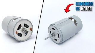 How To Make DĊ Motor From PVC Pipe At Home | 775 DC Motor