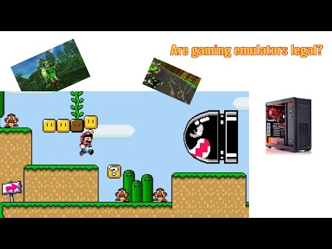 Is it legal to use game emulators?