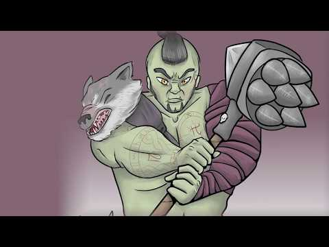 Brom The Barbarian's back story / Tavern Chronicles D&D 5e