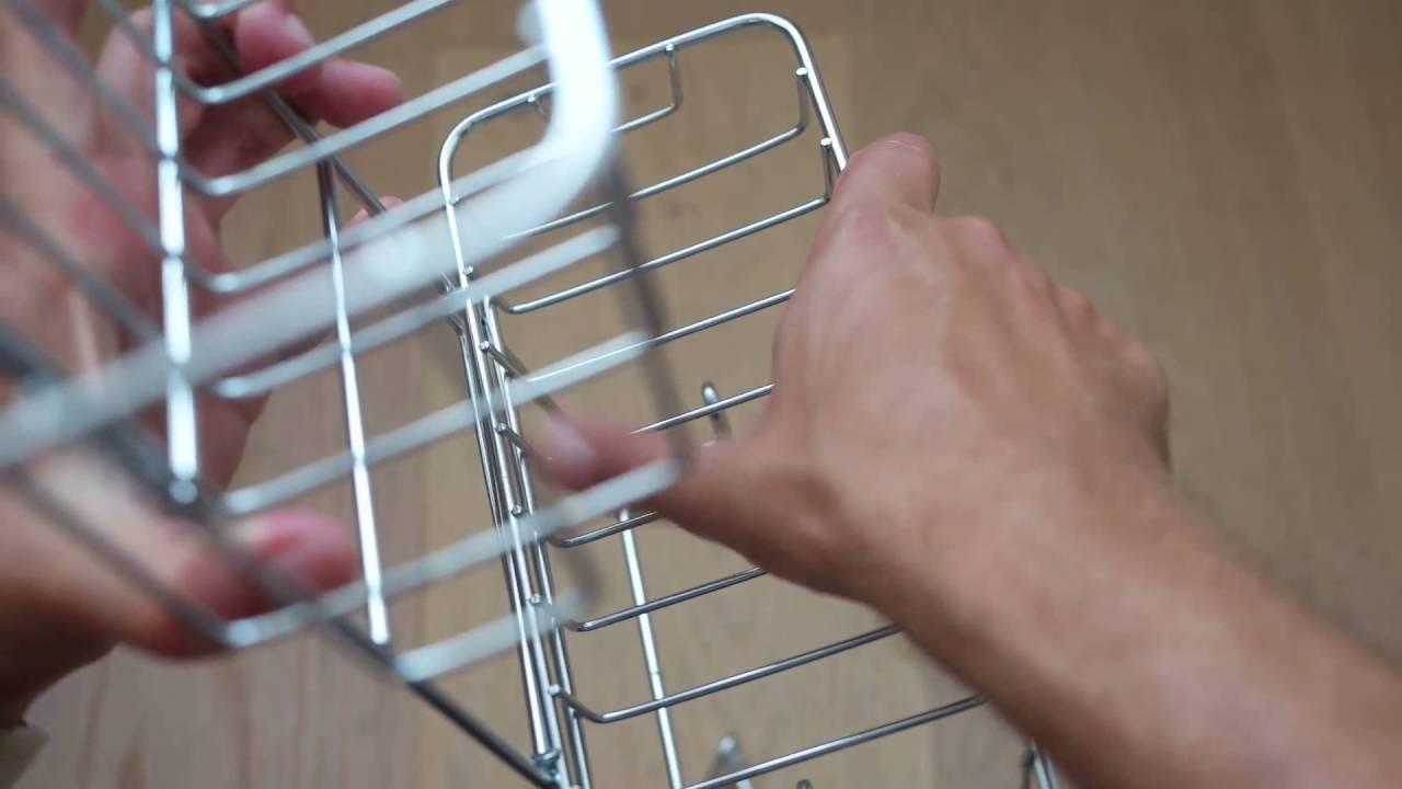 Ikea IMMELN Shower hanger - YouTube
