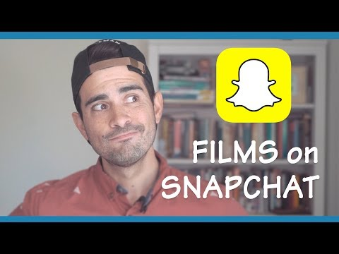 Research: Why you SHOULD make a SNAPCHAT FILM!