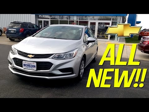 [REDESIGNED] 2016 Chevrolet CRUZE LS Start-Up, Review, and Tour