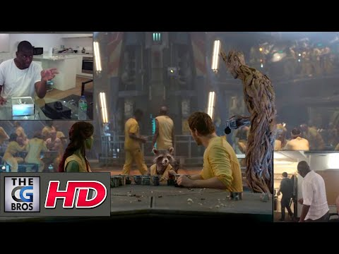 "CGI Animation Shot Breakdowns ""Guardians of The Galaxy Ref""- by Sidney Kombo"