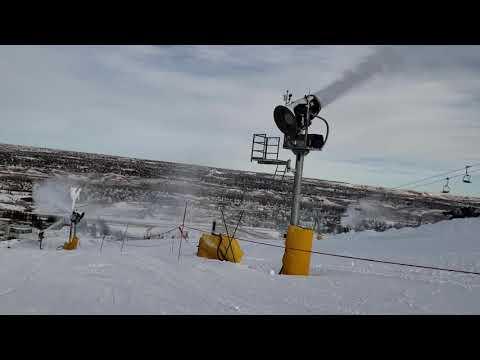 2 Minutes At Canada Olympic Park Ski Hill - Dec 7 2018
