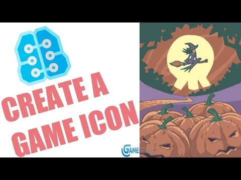 CREATE AN ICON FOR YOUR GDEVELOP GAME WITH PHOTOSHOP