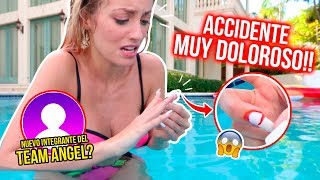 ACCIDENTE EN LA PISCINA!😭😱 CONOCE EL PRIMER INTEGRANTE DEL TEAM ÁNGEL! 💙💜 | 10 Mar 2019