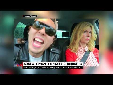 Lucu! Warga Jerman Nyanyikan Lagu Indonesia