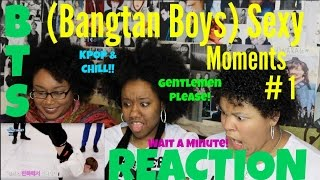 BTS (Bangtan Boys) - Sexy Moments # 1 REACTION [MANNN!] MP3