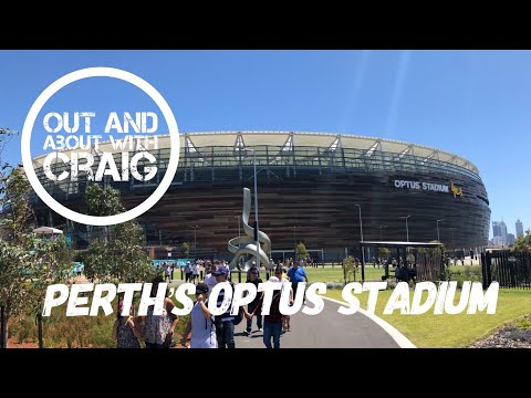 Perth's New Optus Stadium 🇦🇺