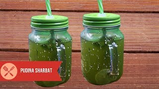 Nimbu Pudina Sharbat refresing Summer drinks with Mint Lemonade Recipe