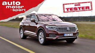 VW Touareg: Genau richtig mit V6-Diesel? - Test/Review | auto motor und sport