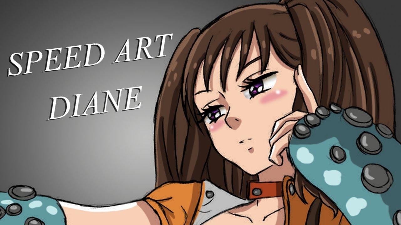 Colorindo Manga Diane Nanatsu No Taizai 5 Youtube
