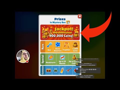How To Get A Mega Jackpot On Subway Surfers? Subway Surfers Livestream From The Beginning!