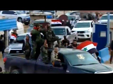 -القوات الشعبية- الموالية للنظام السوري تدخل منطقة عفرين  - نشر قبل 2 ساعة