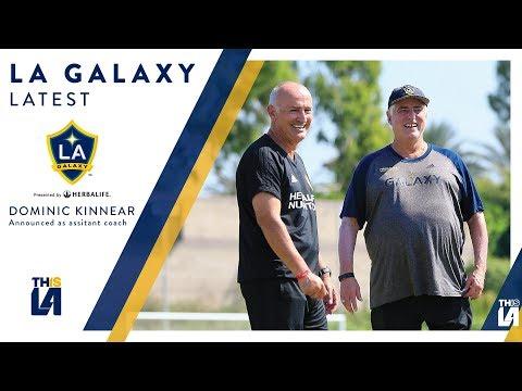 Dominic Kinnear named LA Galaxy Assistant Coach | LATEST