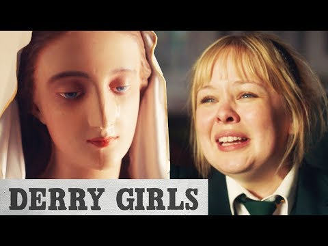 Derry Girls | It's A Miracle! Statue Of Mother Mary Cries Real Tears
