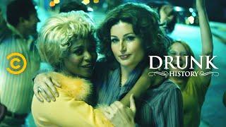 Marsha P. Johnson Sparks The Stonewall Riots  Ft. Alexandra Grey & Trace Lysette  - Drunk History