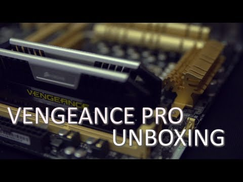 Corsair Vengeance Pro Overclocking Memory Unboxing & Overview