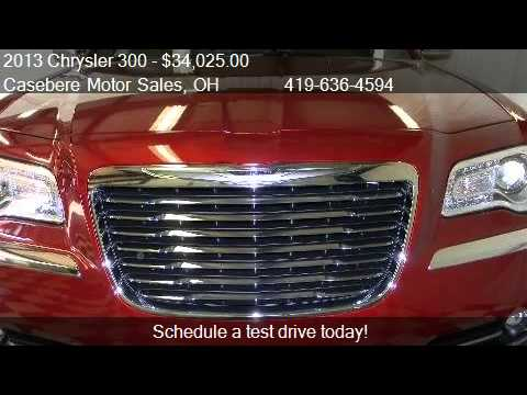 2013 Chrysler 300 Motown Edition For Sale In Bryan Oh 435 Youtube
