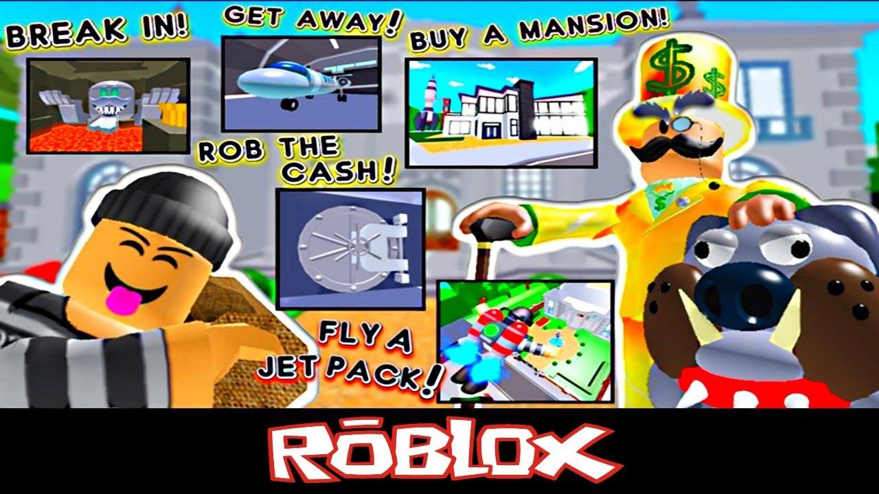 Rob Mr Rich S Mansion New By Platinumfalls Roblox Youtube