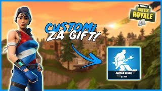 KO WINE CUSTOM DOBIJA GIFT! | CUSTOMI U GIFTANJE! | FORTNITE BALKAN