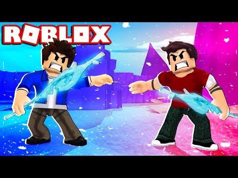 Download Roblox Bastão De Gelo Boladão Icebreaker Mp4 - roblox viramos o homem de ferro iron man battles