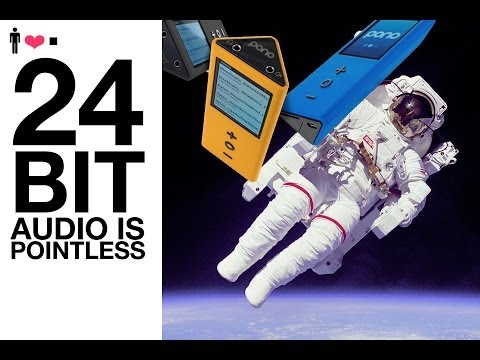 Audio File 01: Bit Depth & The 24 Bit Audio Myth