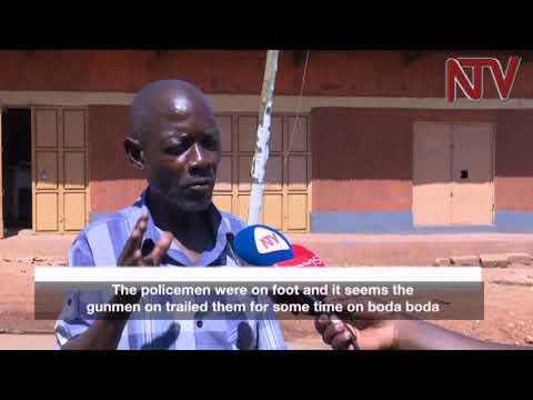 Two policemen killed at night in Kawempe, Kampala, Guns taken