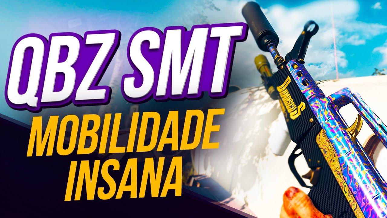 QBZ SMT ta INSANA na Season 4 Reloaded - Call of Duty: Warzone (melhor classe #39)