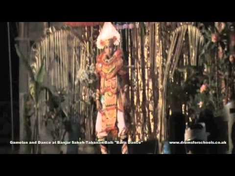 """Gamelan and Dance at Banjar Sakeh-Tabanan-Bali """"Baris Dance"""".m4v"""