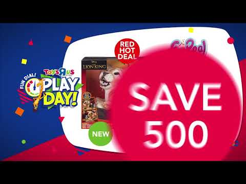 Toys R Us August Play Day Deals