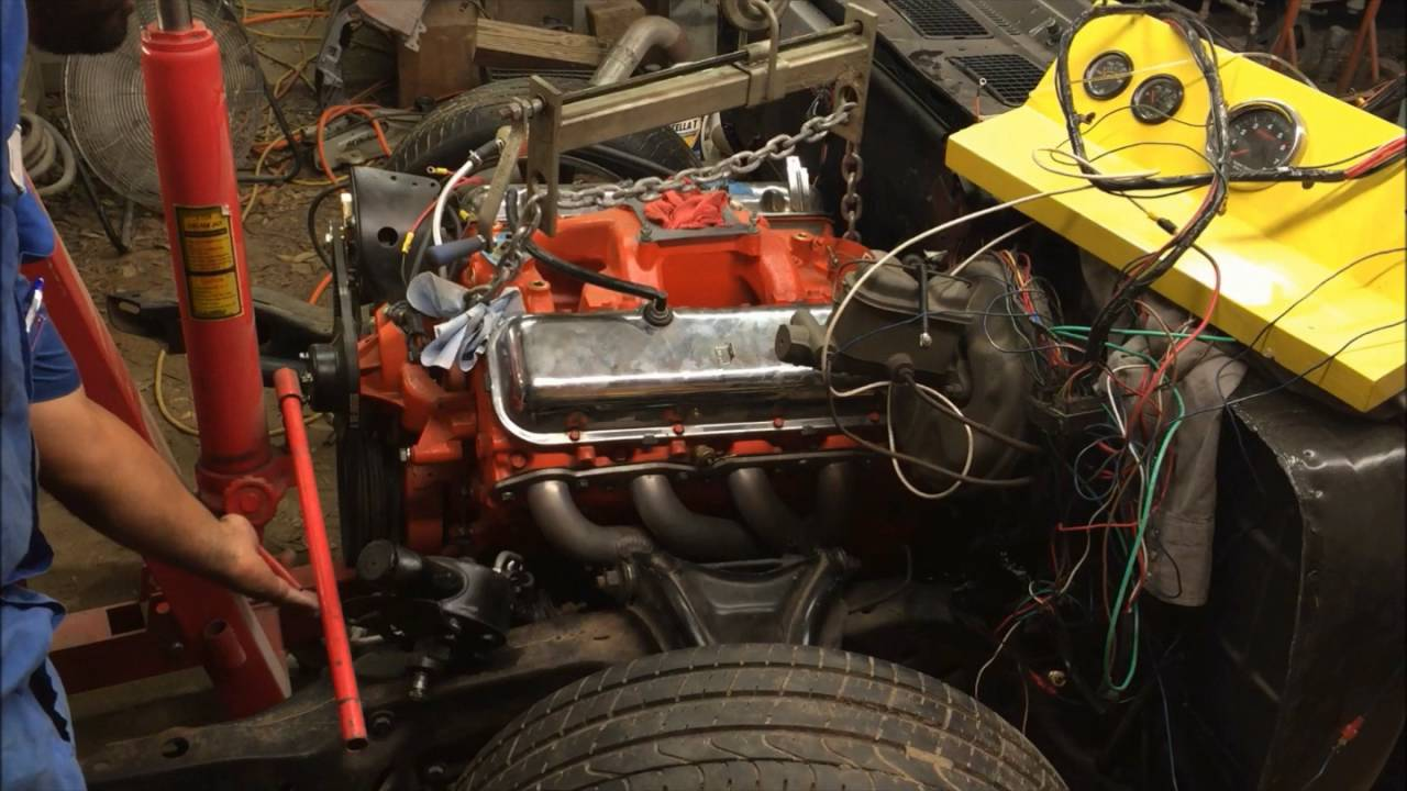 Big block chevy 350 donk - 3 part 8