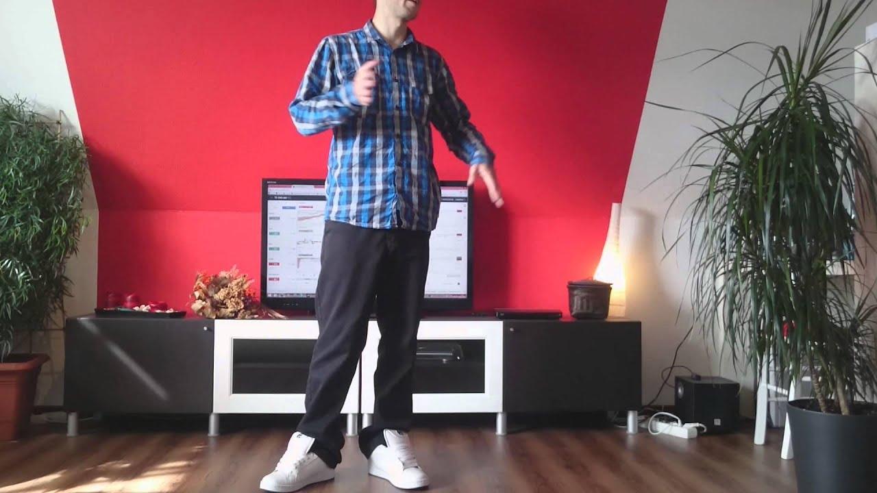 Real Melbourne Shuffle lernen Tutorial [German/Deutsch] 1