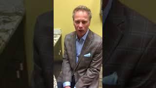 Dr Justin Jones of Jones Plastic Surgery in Oklahoma City demonstrates silicone breast implant dura