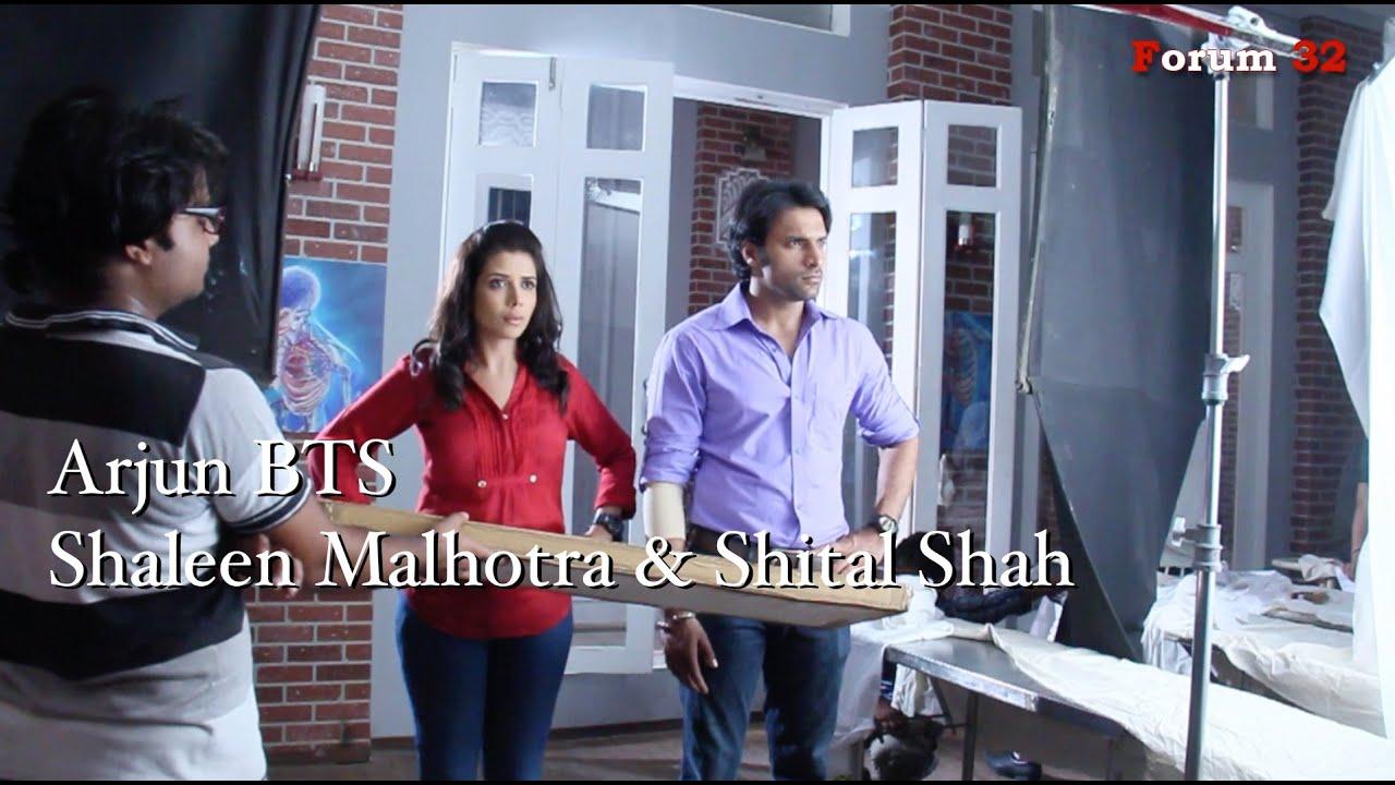 Arjun | BTS | Shaleen Malhotra and Shital Shah Scene ... Shaleen Malhotra And Sheetal Shah