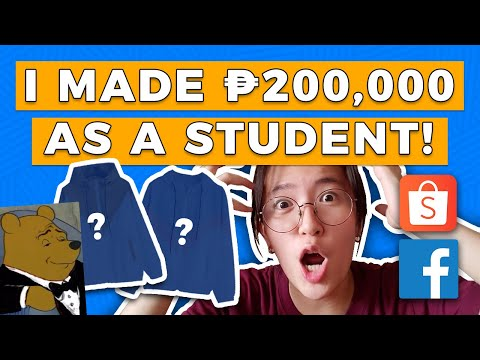 I MADE 200,000 IN 3 MONTHS AS A STUDENT! the story + what I learned | Buy and Sell, Facebook, Shopee