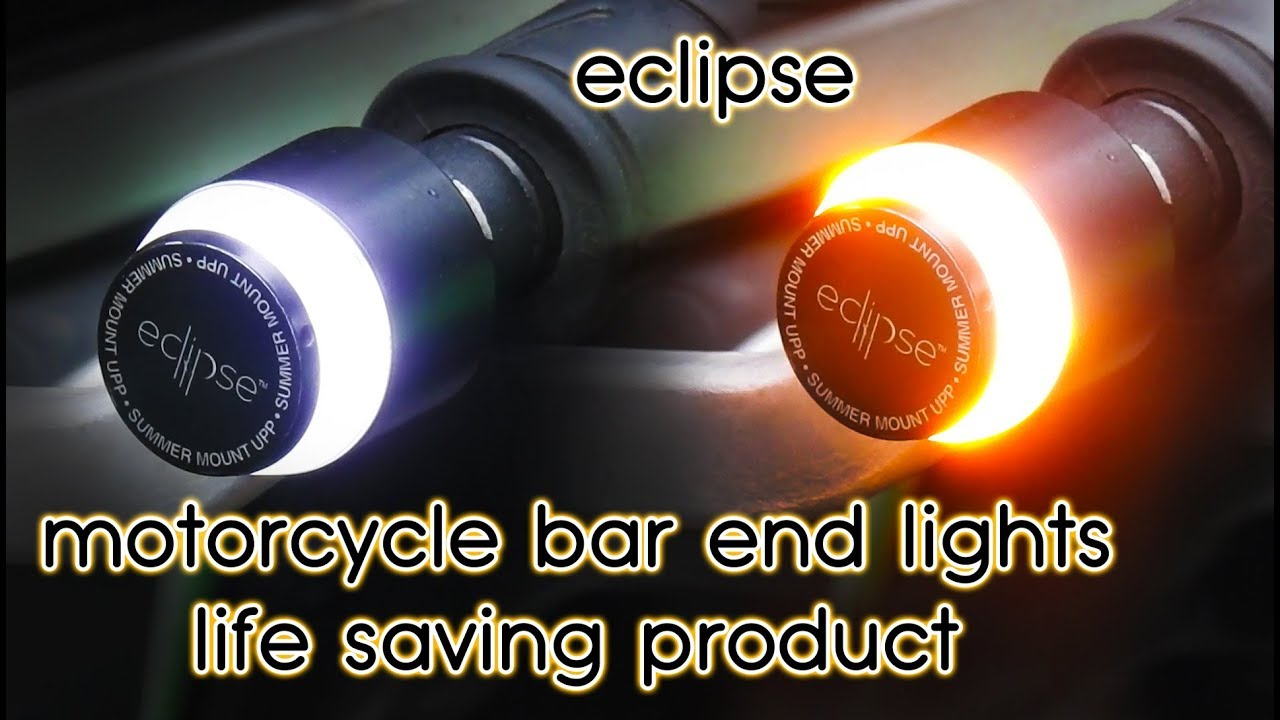 Eclipse Motorcycle Bar End Lights | Bar End Lighting System | Modification for Honda Hornet 160R | & Eclipse Motorcycle Bar End Lights | Bar End Lighting System ...