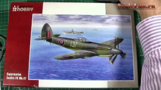 Special Hobby Supermarine Seafire FR Mk47 72 scale