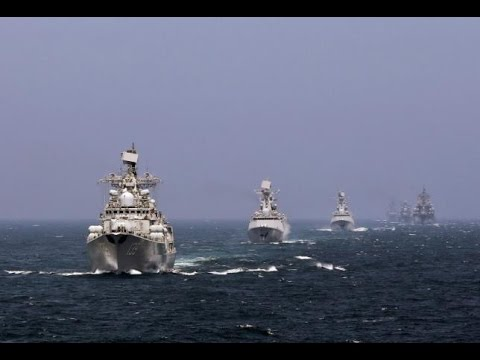 China & Russia holds massive naval drills to prepare for 'sudden, cruel & short' modern war