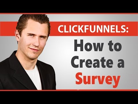 ClickFunnels: How to Create a Survey