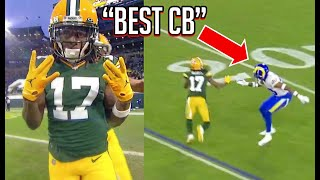 Davante Adams 'EXPOSING' Jalen Ramsey & the Rams (HIGHLIGHTS!)