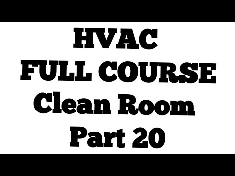 Clean Room part 20 ll HVAC interview Question and Answers