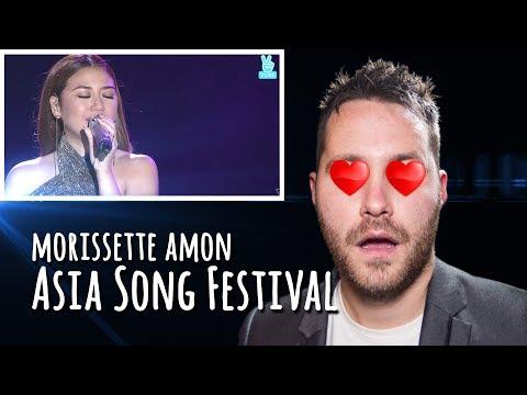 🔥 Morissette Amon - 2017 ASIA SONG FESTIVAL | REACTION 🔥