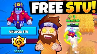 Unlock Stu For FREE! New Brawler Update & More!