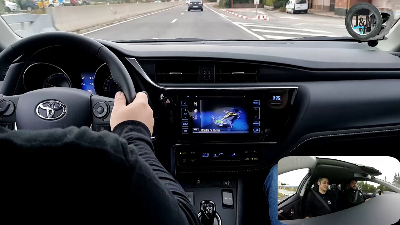 Toyota Auris Hybrid Feel! 2018: Prueba en carretera POWER ...