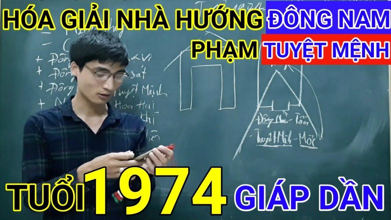 Tuổi Giáp Dần 1974 Nhà Hướng Đông Nam | Hóa Giải Hướng Nhà Phạm Tuyệt Mệnh Cho Tuoi Giap Dan 1974