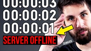 Co się dzieje tuż przed zamknięciem serwerów gry