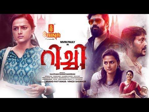 Richie Malayalam Full Movie ( 2K ) | Nivin Pauly , Shradha Srinath , Prakash Raj , Lakshmi Priya